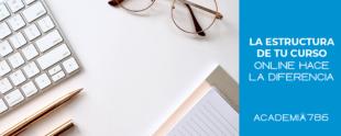 Visualiza y desarrolla la mejor estructura para tu curso online