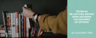 Técnicas de lectura rápida para mejorar tus sesiones de estudio