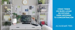 Cómo tener un buen lugar de estudio para mejorar tu concentración